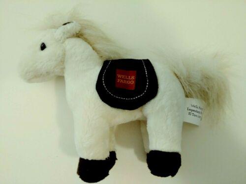"2014 Wells Fargo Advertising EL TORRO CREAM COLOR PONY stuffed plush toy 7"""