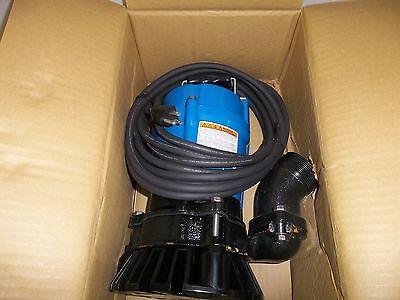 Submersible Trash Pump (TSURUMI PUMP HS2.4S-62 SUBMERSIBLE TRASH WATER SUMP PUMP ½ HP NEVER)