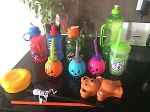 Kids cup/snack holder lot