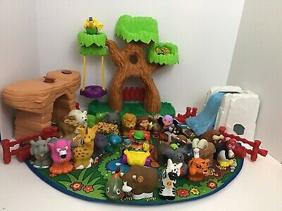 Fisher Price Little People A to Z Zoo Alphabet Learning 26 Animals Complete Set