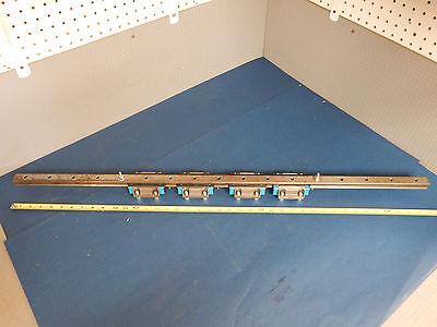 Iko Mht25 4 Linear Bearings On A Linear Motion Guide 40 Rail