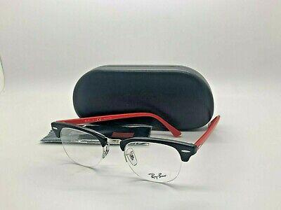 Ray-ban ORX4354V 5905 Clubmaster Brille Brillengestell Brille Schwarz/Rot