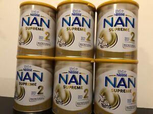 Nan Supreme Baby Formula (7 tins)
