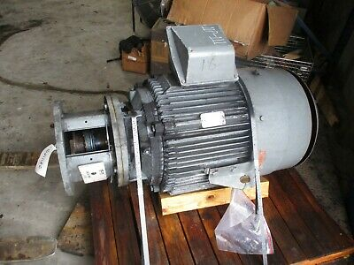 Reliance 100hp Motor Fr 405lp Rpm 3555 230460v 1021112c Used
