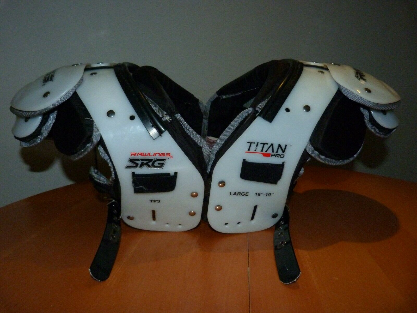 Schulterpad Shoulderpad Rawlings SRG Titan Pro Large 18-19 TP3 sehr gut Football
