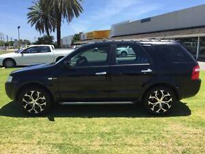 2006 Ford Territory Ghia Turbo  ******7 SEATS 4X4 AUTOMATIC******