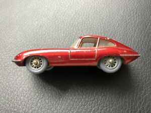 Vintage Matchbox toy car 60's grey tires.