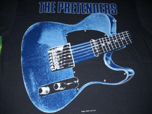 THE PRETENDERS CHRISSIE HYNDE GUITAR WORLD TOUR 1987 VTG CONCERT T-SHIRT-XL-NEW