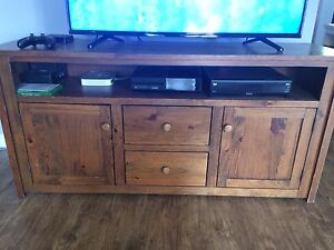 Country Time Tv Stand and table and chairs