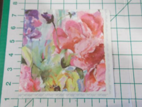 """Two Decorative Luncheon Napkins for Decoupage """"Patina Vie Floral Cream"""""""