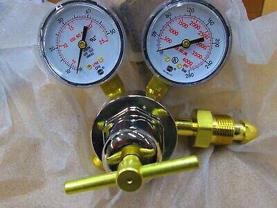Miller Smith 31-50-580 Argon Co2 Single Stage Flow Gauge Regulator Cga 580
