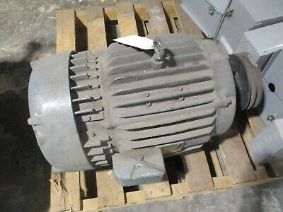 Morse Borg Warner Dc Motor 167202 10hp 1750rpm 240a150f Volts 34 Amps Tefc Used