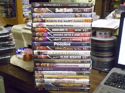 (20) Tyler Perry DVD Lot: (10) Madea Christmas Halloween Good Deeds    Brand NEW