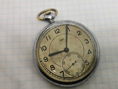 Vintage pocket Watch ZIM, SOVIET/USSR, RUSSIA