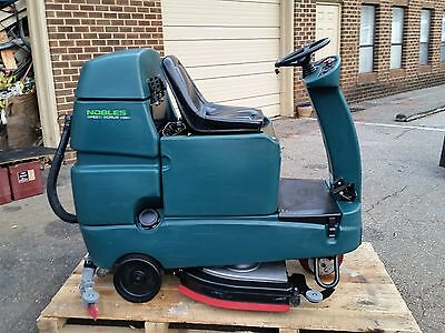 Nobles Speed Scrub Rider 32 Riding Floor Scrubber Under 500hr