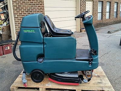 Nobles Speed Scrub Rider 32 Riding Floor Scrubber Under 600 Hours