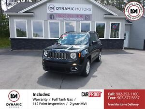 2015 Jeep Renegade North Chrysler Full Warranty Extension! 4x...