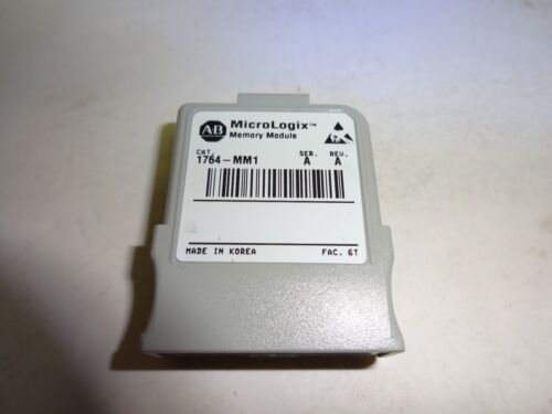 Allen-Bradley MicroLogix 1500 1764-MM1 8K Word Memory Module Tested 45 Sold