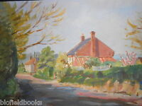 Original Jack Savage Watercolour Painting Of A (norfolk?) Country Lane, Rural -  - ebay.co.uk
