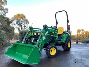 John Deere 1023E Tractor West Bendigo Bendigo City Preview