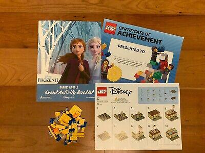 LEGO Frozen 2 - Mini Arendelle Castle Barnes & Nobles Build Event + Bonus