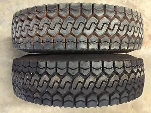 Toyota 76/78/79 Series Land Cruiser 4x4 235/85/16 Tyres- New Pair Orange Grove Gosnells Area Preview