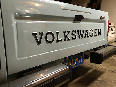 VW Rabbit Pickup Tail Gate Lettering; Restoration Quality! Volkswagen Caddy