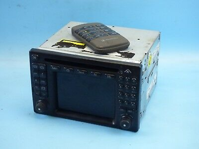MERCEDES M-Klasse ML W163 Navigation COMAND 2.0 Radio Navi Head Unit A1638201489