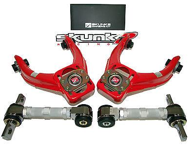 Skunk2 Rear Camber Kit - Skunk2 Pro Alignment Camber Kits 96-00 Honda Civic & Si (Front+Rear)