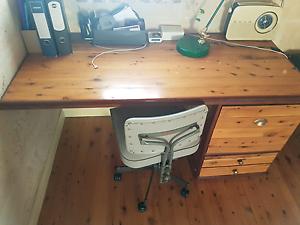 Rustic Vintage Desk Mosman Park Cottesloe Area Preview