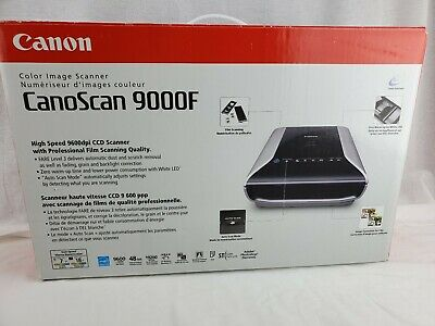 Canon Canoscan 9000f Color Image Scanner Film Scanning NEW OPEN BOX