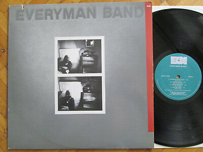 EVERYMAN BAND - Same s/t * LP * ECM * US 1982