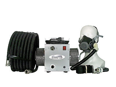 Air Half Mask Respirator - Supplied fresh Air Respirator breathing half 1/2 mask