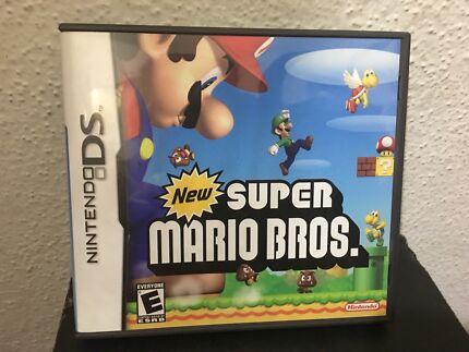 DS Super Mario Bros Game