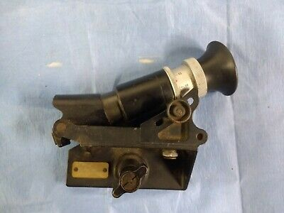 Wild Heerbrugg Theodolite Scope No. 6673 Dated 1973