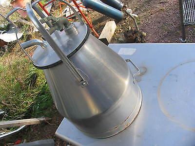 Chore Boy Milking Milker Bucket Stainless Steel Cow Goat