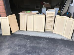 Cabinets and doors
