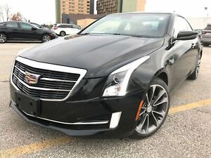2016 Cadillac ATS AWD-2.0T-Red leather interior!!