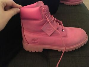 Pink Timberland for sale