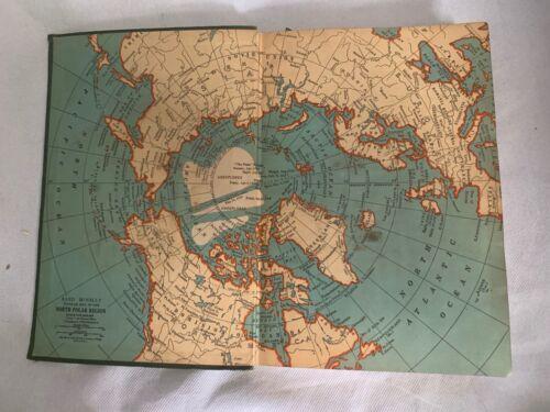 Vintage Standard Atlas And Gazetteer Of The World Literary Digest 1934 Bodmer