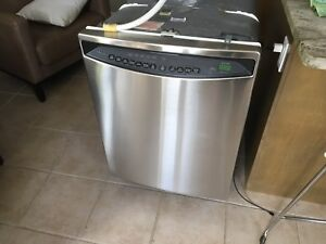 "TopLine GE ""Profile"" Stainless Steel Dishwasher"