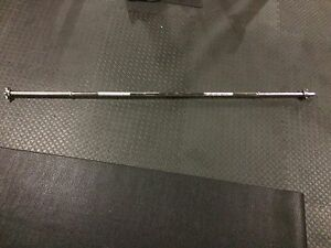"Solid Steel Barbell for 1"" hole plates  $25"