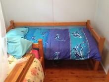 Single slat bed and mattress North Narrabeen Pittwater Area Preview