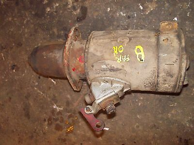Farmall Ih B Tractor Good Working 6v Engine Motor Starter Assembly