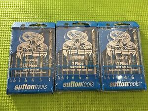 Sutton Tools 7 Piece Viper Imperial Drill Bit Set Brunswick East Moreland Area Preview