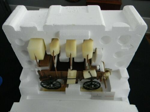 Franklin Mint Diecast Western Chuck Wagon 1:16 scale B11ZK61 MIB!