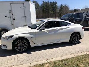 Q60 Red sport lease take over