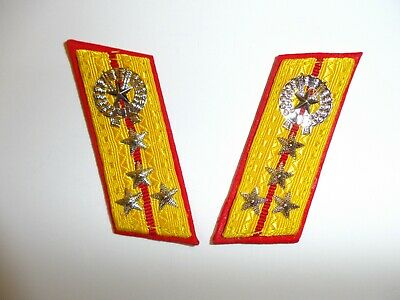 e2244 Korea Army collar tabs Senior Captain pair bad guys IR16A