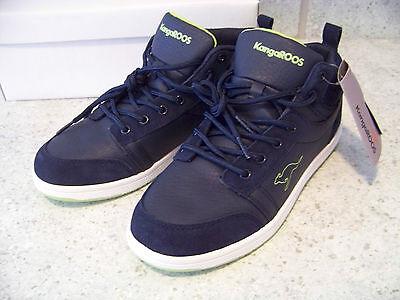 KangaROOS Sneaker (Turnschuhe) in Gr. 39 - Navy/Lime - Neu (NP: 49,90 €)!