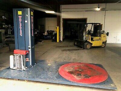 Wulftec Semi Auto Stretch Wrapping Machine Stock 2297